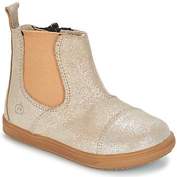 Sapatos Rapariga Botas baixas Citrouille et Compagnie FEPOL Prata
