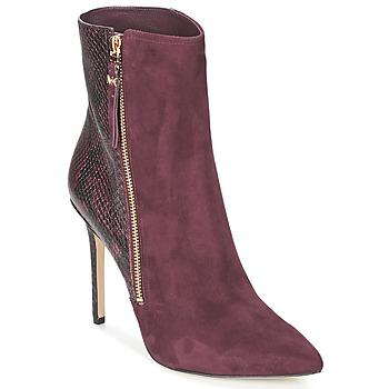 Sapatos Mulher Botas baixas MICHAEL Michael Kors DAWSON BOOTIE Bordô