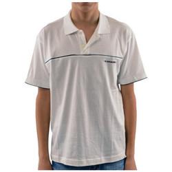 Textil Criança Polos mangas curta Diadora  Branco