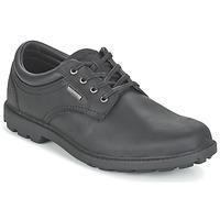 Sapatos Homem Sapatos Rockport RGD BUC WP PLAINTOE Preto