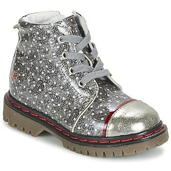 Sapatos Rapariga Botas baixas GBB NEVA Cinza / Estampado