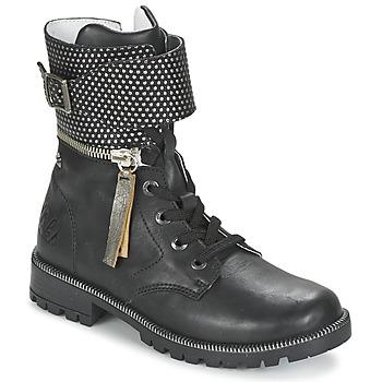 Sapatos Rapariga Botas baixas Ikks PEGGY Preto