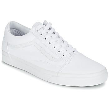 Sapatos Sapatilhas Vans OLD SKOOL Branco