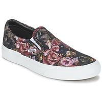 Sapatos Mulher Sapatilhas de cano-alto Vans Classic Slip-On Preto