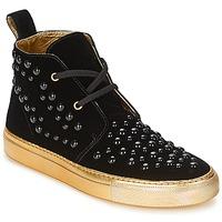 Sapatos Mulher Sapatilhas de cano-alto Sonia Rykiel 670183 Preto