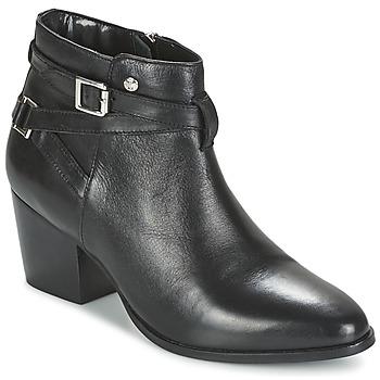 Sapatos Mulher Botins Elle PEREIRE Preto