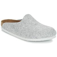 Sapatos Mulher Tamancos Birkenstock AMSTERDAM Cinza / Claro