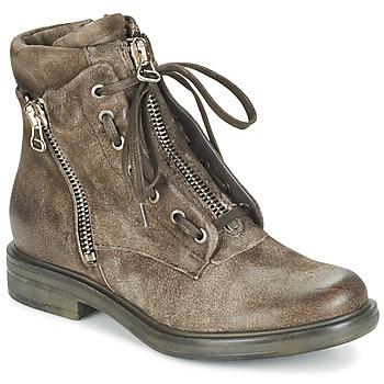 Sapatos Mulher Botins Mjus CAFE Toupeira