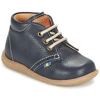 Sapatos Rapaz Botas baixas Kavat HAMMAR LACE Azul