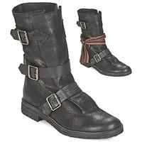 Sapatos Mulher Botas baixas Felmini CREPONA Preto