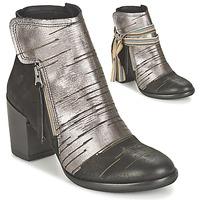 Sapatos Mulher Botins Felmini CARMEN Preto / Prata