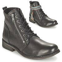 Sapatos Mulher Botas baixas Felmini BEJA Preto
