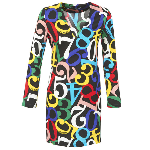Textil Mulher Vestidos curtos Love Moschino PICHANI Multicolor