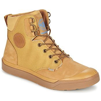 Sapatos Homem Botas baixas Palladium PALLARUE WP Mel
