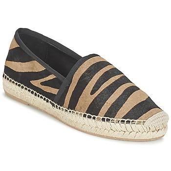 Sapatos Mulher Alpargatas Marc Jacobs SIENNA Preto / Camel