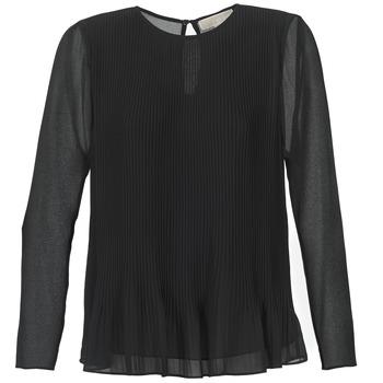 Textil Mulher Tops / Blusas MICHAEL Michael Kors SOSEN Preto