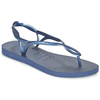 Sapatos Mulher Chinelos Havaianas LUNA Azul / Marinho