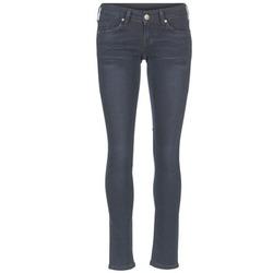 Textil Mulher Calças de ganga slim Mustang GINA Azul / Preto