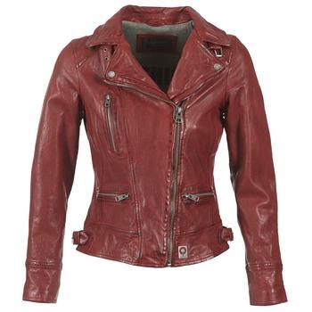 Textil Mulher Casacos de couro/imitação couro Oakwood 62065 Vermelho