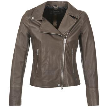 Textil Mulher Casacos de couro/imitação couro Oakwood 62049 Cinza / Claro