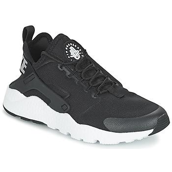 Sapatos Mulher Sapatilhas Nike AIR HUARACHE RUN ULTRA W Preto / Branco
