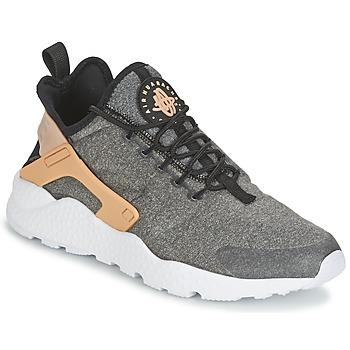 Sapatos Mulher Sapatilhas Nike AIR HUARACHE RUN ULTRA SE W Preto / Camel
