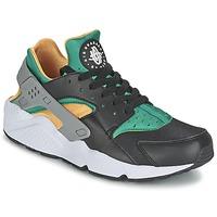 Sapatos Homem Sapatilhas Nike AIR HUARACHE RUN Preto / Amarelo / Verde