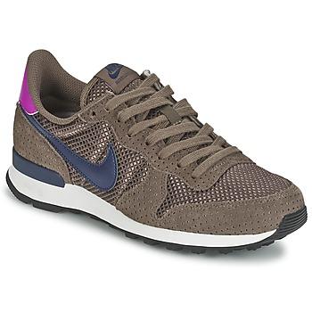Sapatos Mulher Sapatilhas Nike INTERNATIONALIST PREMIUM W Castanho