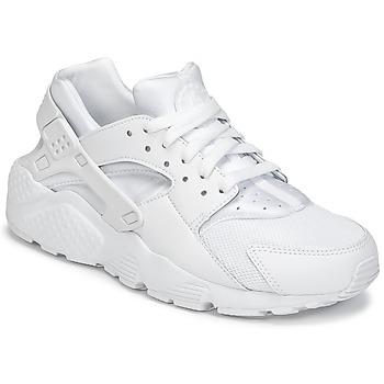 Sapatos Rapaz Sapatilhas Nike HUARACHE RUN JUNIOR Branco