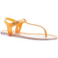 Sapatos Mulher Sandálias Cubanas Sandalias Sunny320 Orange Laranja
