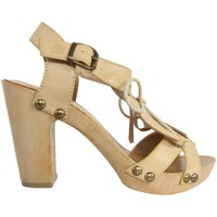 Sapatos Mulher Sandálias MTNG 53251 Beige