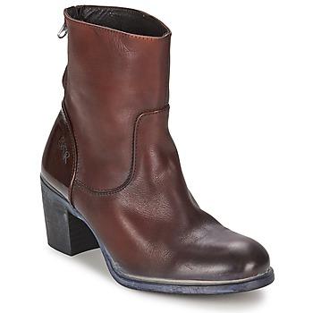 Sapatos Mulher Botins BKR LOLA Castanho