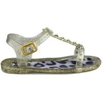 Sapatos Criança Sapatos aquáticos Pablosky sandália brilho DOURADO