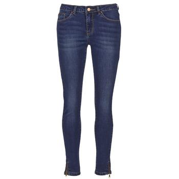 Textil Mulher Calças de ganga slim Moony Mood IFABANE Azul