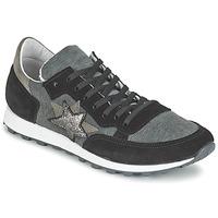 Sapatos Mulher Sapatilhas Yurban FILLIO Cinza / Preto