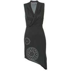 Textil Mulher Vestidos curtos Desigual RAZIANA Preto