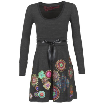 Textil Mulher Vestidos curtos Desigual RIDOUBA Cinza