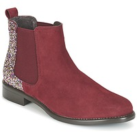 Sapatos Mulher Botas baixas Betty London FREMOUJE Bordô
