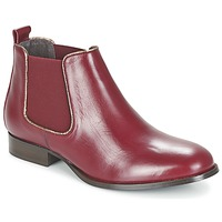 Sapatos Mulher Botas baixas Betty London FOLOIE Bordô
