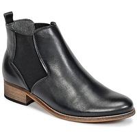 Sapatos Mulher Botas baixas Betty London FASSINE Preto