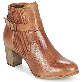 Sapatos Mulher Botins Betty London FAZELLE Camel