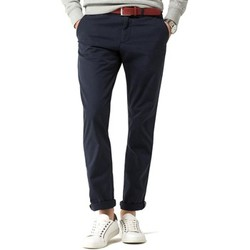 Textil Homem Calças Tommy Hilfiger DENTON CHINO ORG STR TWILL azul