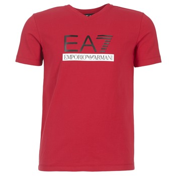 Textil Homem T-Shirt mangas curtas Emporio Armani EA7 MOFRAGO Vermelho