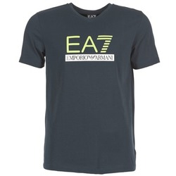 Textil Homem T-Shirt mangas curtas Emporio Armani EA7 JANTLOA Marinho
