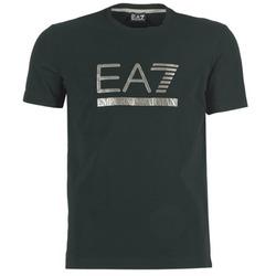 Textil Homem T-Shirt mangas curtas Emporio Armani EA7 MAGGAROL Preto