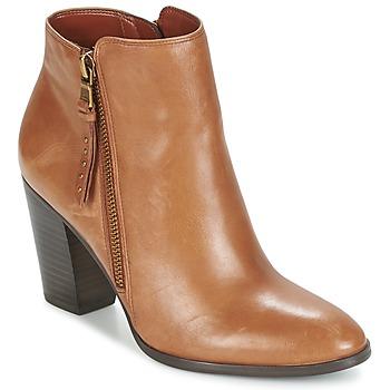 Sapatos Mulher Botas baixas Ralph Lauren FAHARI Conhaque