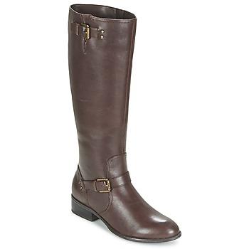 Sapatos Mulher Botas Ralph Lauren MARRONA Castanho