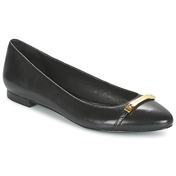 Sapatos Mulher Sabrinas Ralph Lauren FARREL-FLATS-CASUAL Preto