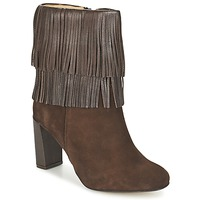 Sapatos Mulher Botins Betty London FAJIME Castanho