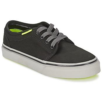 Sapatos Criança Sapatilhas Vans 106 VULCANIZED Preto / Cinza / Amarelo